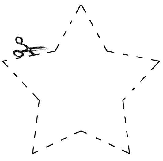 molde de estrela grande para imprimir_Pesquisa do Baidu