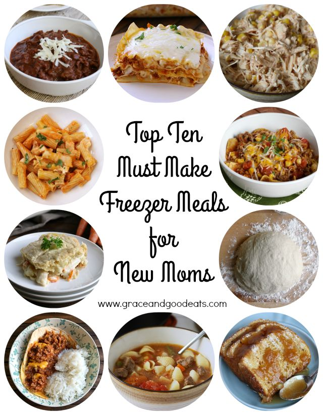 how to make easy freezer meals