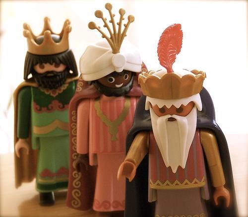 playmobill reyes
