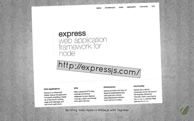 express js tutorial part 01 intro (+playlist)