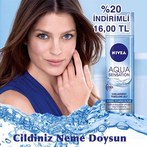 Haftaya capcanlı bir başlangıç yapın! Hydra IQ ve Salatalık Özleri içeren Aqua Sensation Canlandırıcı Yüz Temizleme Jeli cildi canlandırır ve yeniden nefes almasını sağlar.