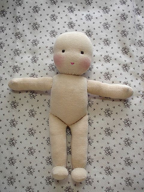 How to make waldorf dolls. Lots of pictures