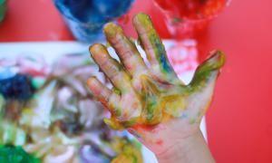 Receta pintura de dedos para niños - Ana Cabreira