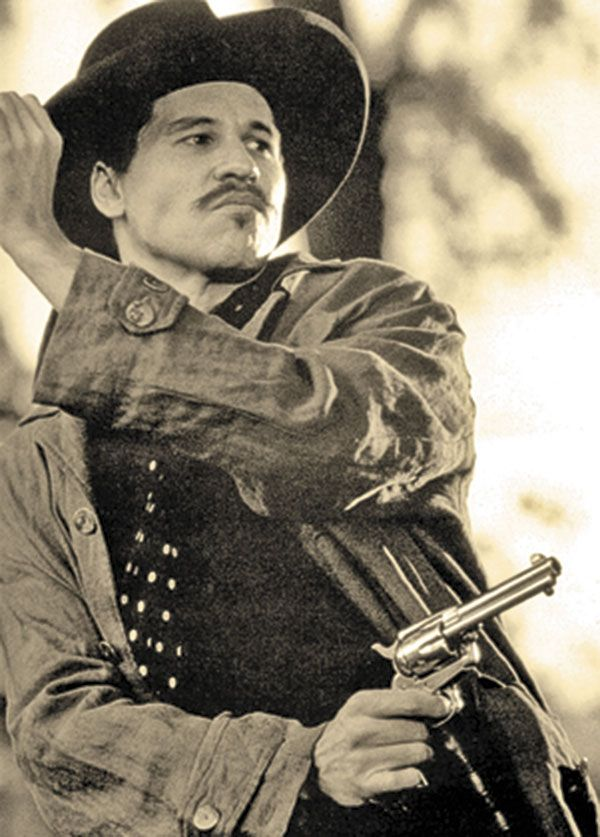 "Val Kilmer as Doc Holliday in ""Tombstone"" (1993)"