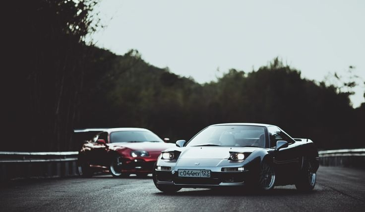 Toyota Supra & Honda NSX by Denis Zolotous - Photo 84459591 / 500px