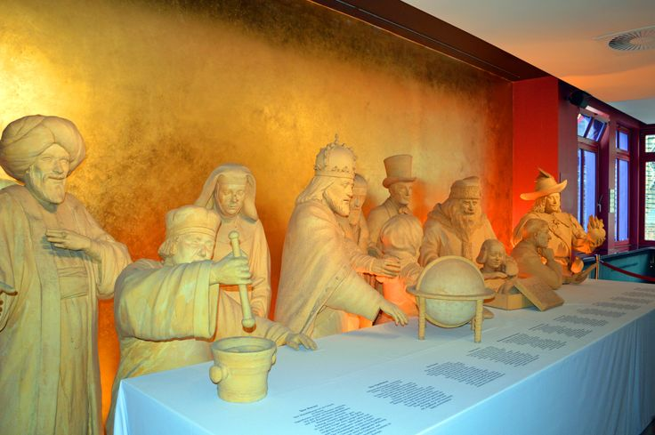 Niederegger Marzipan Museum features life size figures.
