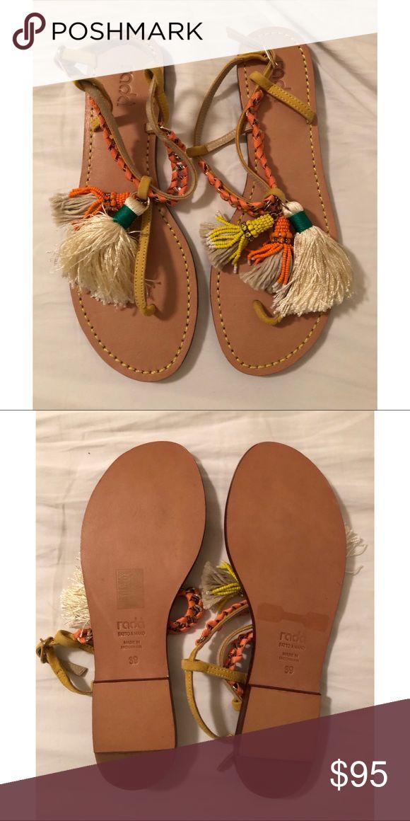 Radà fringe sandals