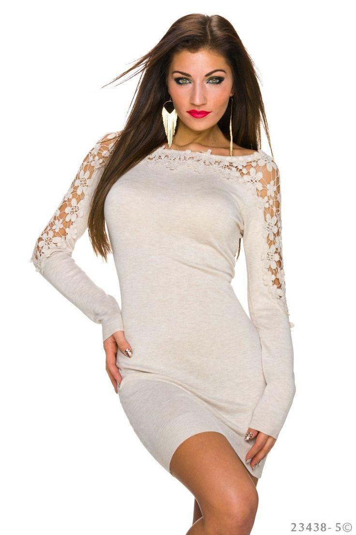 Extraordinary Cream Dress