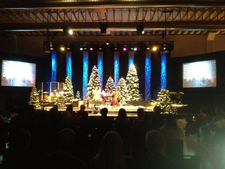 Get Into The Yule Tide Spirit On Your Church Stage With These Christmas Designs