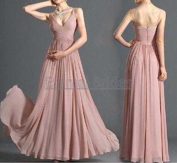 Blush Pink Dust Pink V neckline Straps Ruched by EternalBrides, $139.00 DIOR HOMME VINTAGE HIP HOP  SIZE 38 - 42 / SUIT 48 BY: ALEXANDER V WESLEY