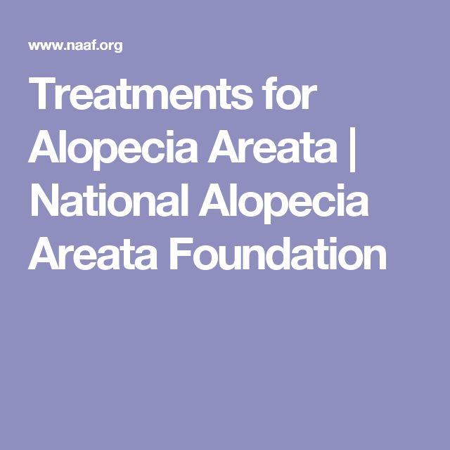 Treatments for Alopecia Areata   National Alopecia Areata Foundation