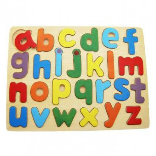 Alphabet Puzzle  This alphabet puzzle will make learning the alphabet fun!