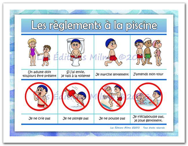Les 12 meilleures images propos de r gles de vie sur for Regle de securite piscine