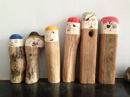 "wooden pirates - image shared by I'm a Teacher, Get Me OUTSIDE here! ("",)"