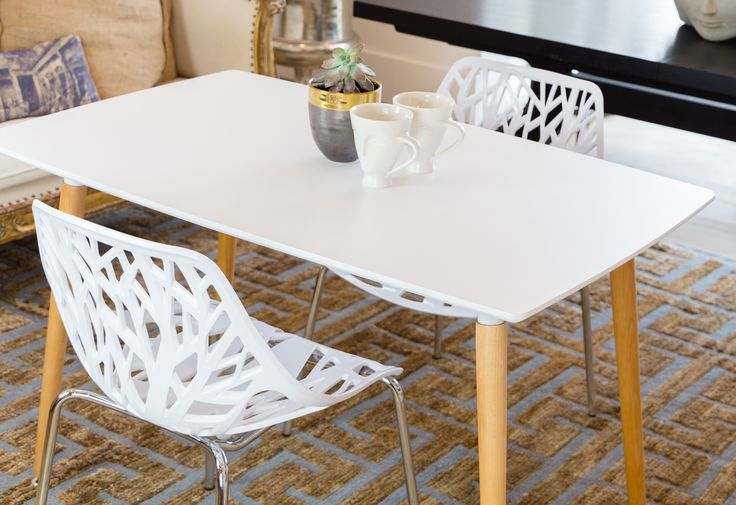 Beautiful UrbanMod Birch Chairs in White, check them out over on www.urbanmod.net