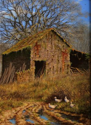 The Afternoon Stroll. Original Oil Painting by Edward Hersey
