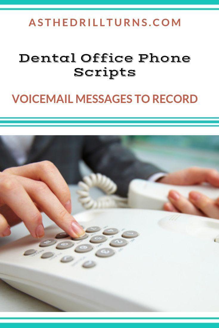 Dental Office Phone Scripts E Book Dental Office Marketing Dental Office Dental