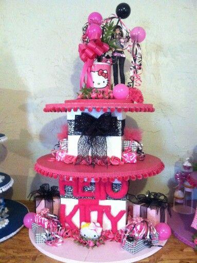 Cupcake stand hello kitty