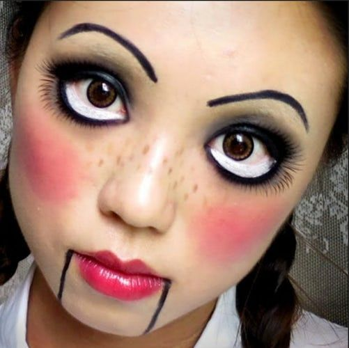 Last Minute Halloween Costumes Ventriloquist Doll