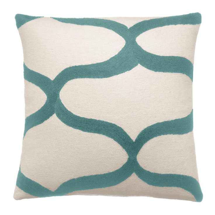 Waves Cream/Pool Pillow