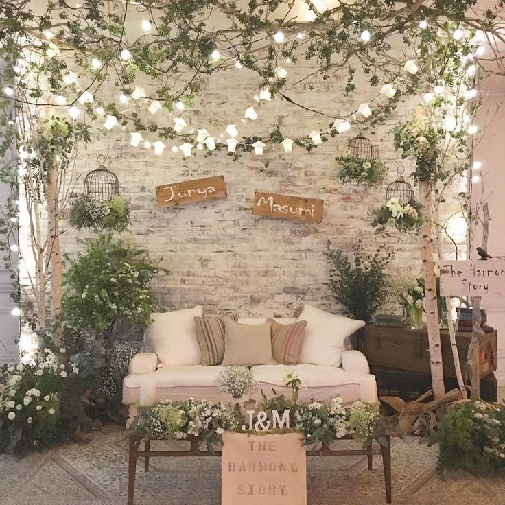 いいね!425件、コメント3件 ― wedding designerさん(@takigawa.tsg)のInstagramアカウント: 「*THE HARMONY STORY* ハーモニー...考え方や価値観の一致 調和がとれる バランスの良い 美しい組み合わせ という意味が。 お互い自分にないものを持っていて…」