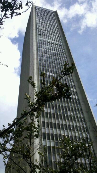 #Bogotaniando con la vista de uno de nuestros edificios insignia @Avianca_com