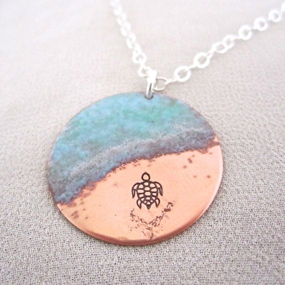 Hey, I found this really awesome Etsy listing at http://www.etsy.com/listing/161211274/almost-there-sea-turtle-necklace-in