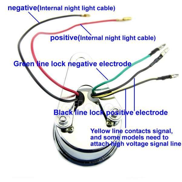 10 Motorcycle Tachometer Wiring Diagram Tachometer Car Tachometer Motorcycle