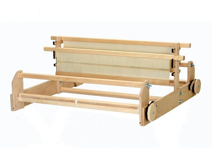 Xxl Weaving Loom 20inch 50cm Extra Large Heddle Loom Big Tapestry Frame And Tools Rigid Heddle Loom Alternative Giant Weaving Frame In 2020 Heddle Loom Loom Loom Weaving