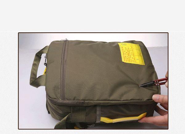 Men Nylon Anti-Scratch Handbag Casual Waterproof Sport Shoulder Bag
