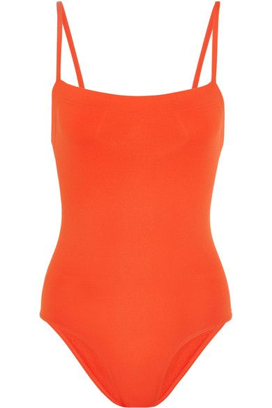 Eres - Les Essentiels Aquarelle Swimsuit - Tomato red - FR42