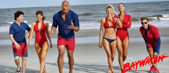 Baywatch (2017) Trailer. Baywatch Cast. Two unlikely prospective lifeguards vie for jobs alongside the buff bodies who patrol a beach in California.