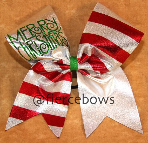 Such a cute Christmas bow!@fiercebows