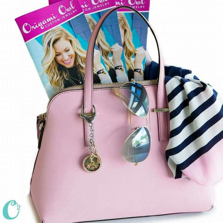 Not a jewelry person? No problem! Origami Owl has the new bag clip + key Chain! LOVE!