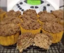Recipe Spiced Apple Crumble Cake by ThermieFanatic #ThermomixBakeOff