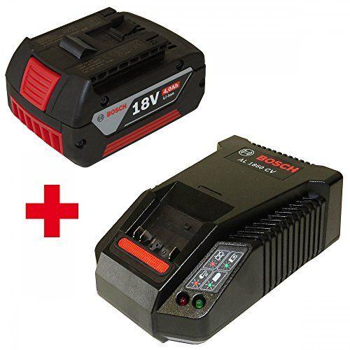Bosch Pack comprenant 1 batterie lithium-ion 18V 4,0Ah 2607336815 et 1 chargeur AL1860CV 2607225321: Technologie lithium-ion Bosch…