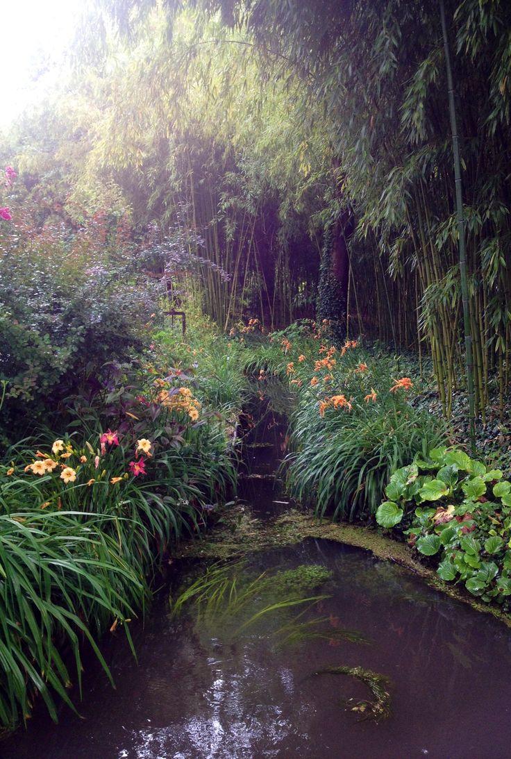 A stolen moment in a beautiful corner of the divine Monet's Garden in early summer http://www.babybarndiscounts.com.au/