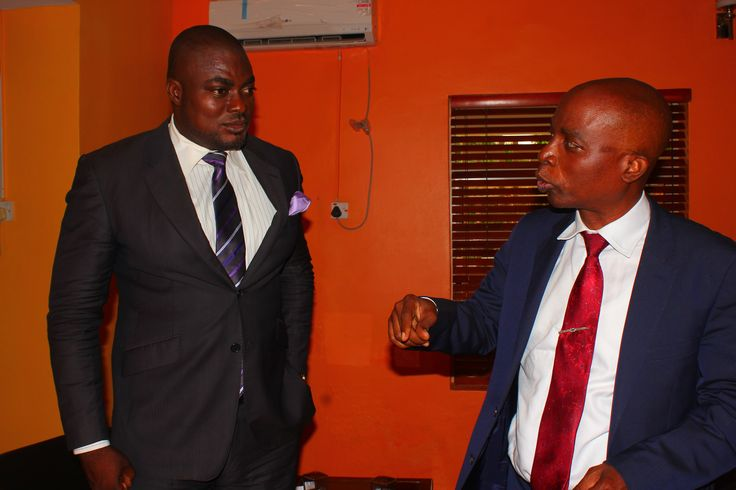 Host,Femi Ipadeola and Dr Olamitoye in a chit chat before the interview