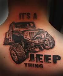 Jeep tattoo