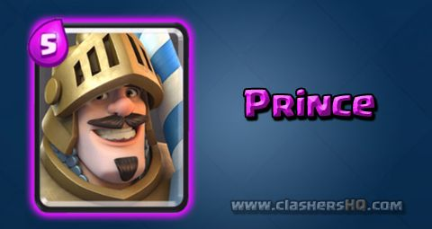 Find out all about the Clash Royale Prince Card. How to get Prince & attack/counter Prince effectively.