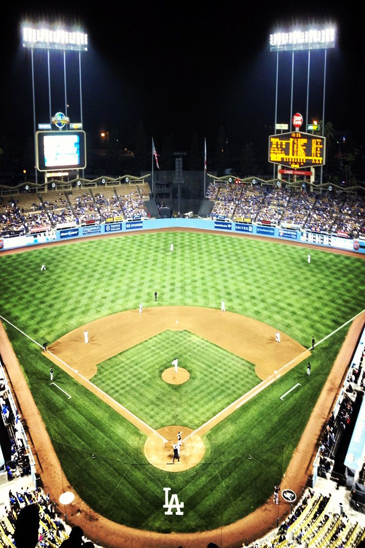 Dodger Stadium at night is a perfect place to spend your summer nights in #LosAngeles. #Dodgers #Dodgerstadium #claytonkershaw https://www.barrystickets.com/blog/la-dodgers-tickets-promo-code/