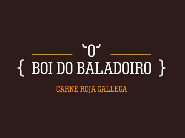 O boi do baladoiro #logo by David de la Iglesia.  #galicia