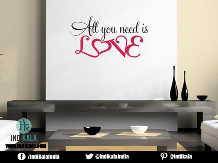 All you need is  LOVE.......  www.indikala.com  #love #need