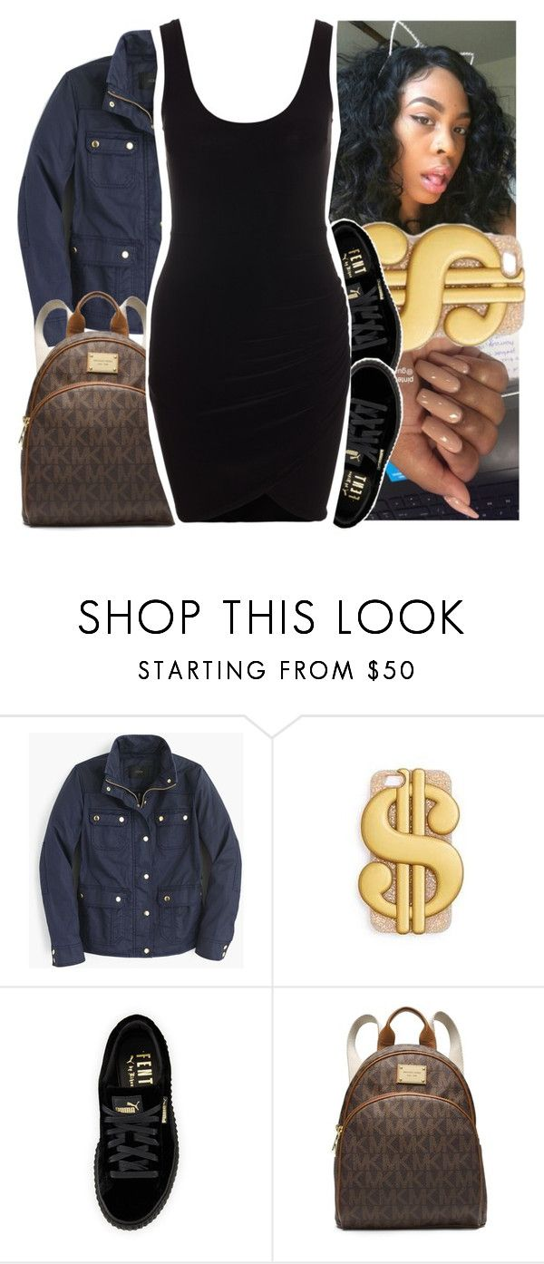"""G Eazy ft. Cardi B. & Asap Rocky x No Limit"" by savagebxtch24 ❤ liked on Polyvore featuring J.Crew, Puma and MICHAEL Michael Kors"