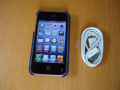 Iphone 3GS 16GB factory unlocked phone AT&T T-mobile Smartphone (MC135LL/A)   eBay