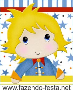 The Little Prince free printable card or candy bar label.                                                                                                                                                     Más