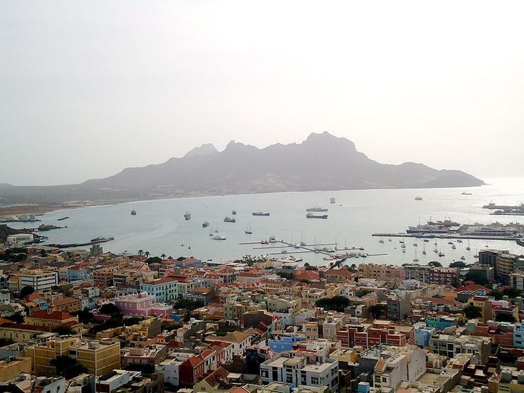 Mindelo en Baía do Porto Grande, São Vicente, #Cape Verde (music festival).....lovely city of Mindelo in Sao Vicente island, Cape Verde