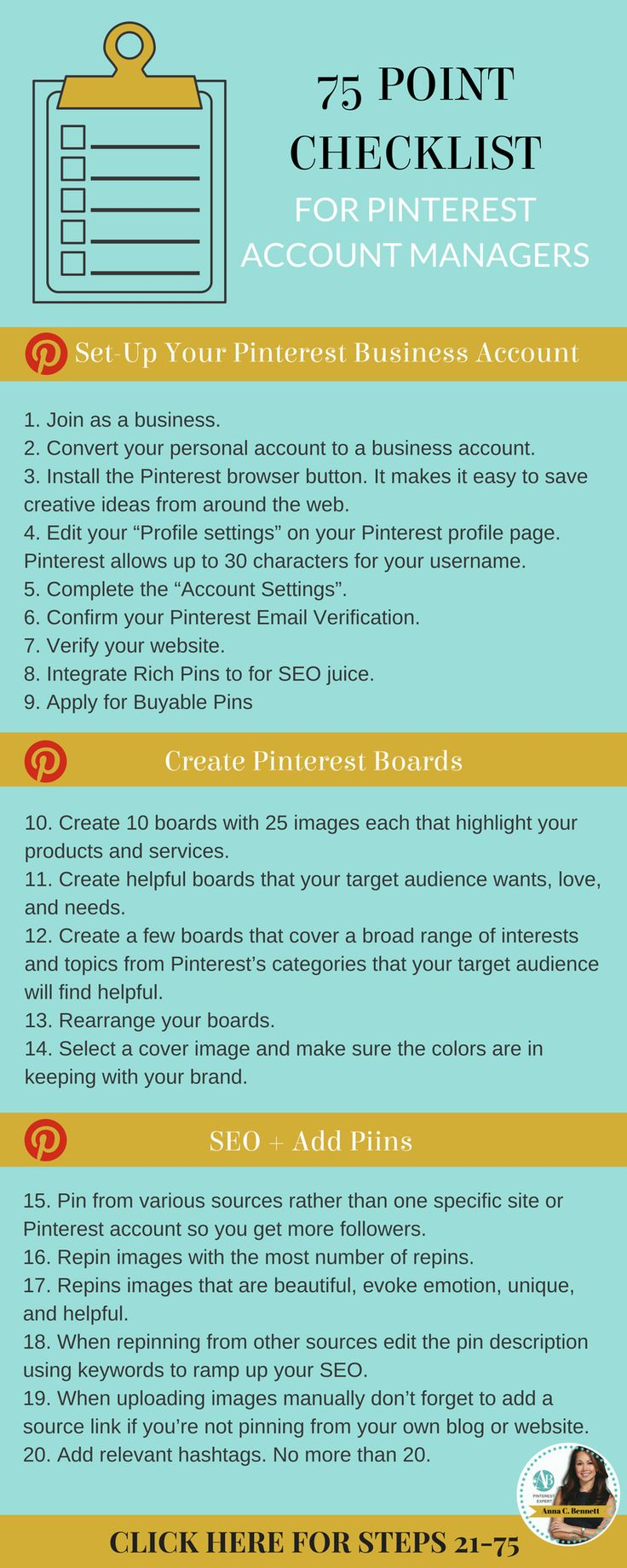 If #SocialMediaManagers decide to offer Pinterest account management services they owe it to their customers to learn how to use Pinterest. It is so scientific.   Pinning for personal reasons doesn't make you qualified to manage Pinterest accounts for business. It's not the same thing. Click to learn how to become a successful Pinterest account manager from #PinterestExpert Anna Bennett. #PinterestMarketing #PinterestTips #PinterestForBusiness #PinterestForBeginners #PinterestMarketingTips