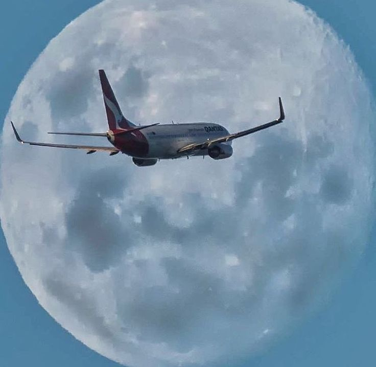 Flying to the Moon, lol...