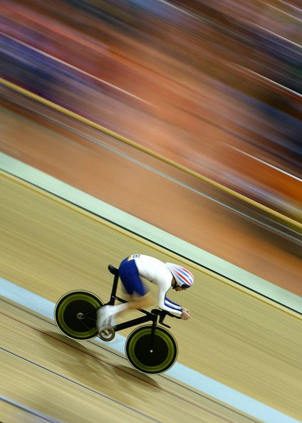 Going to a velodrome and watching a competition is on my bucket list